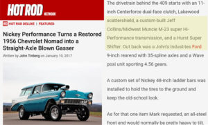 Midwest Muncie Featured in Hotrod Magazine